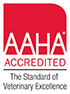 Parkway Vet Hospital is an AAHA Accredited Hospital
